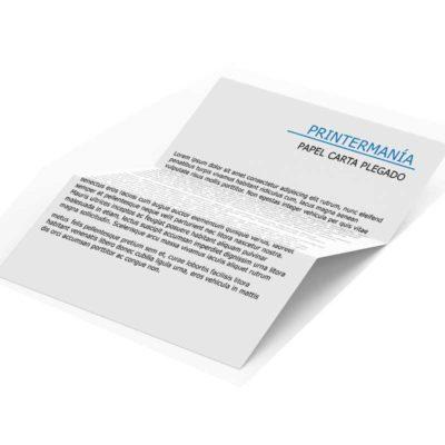Cartas comerciales correspondencia plegadas A4