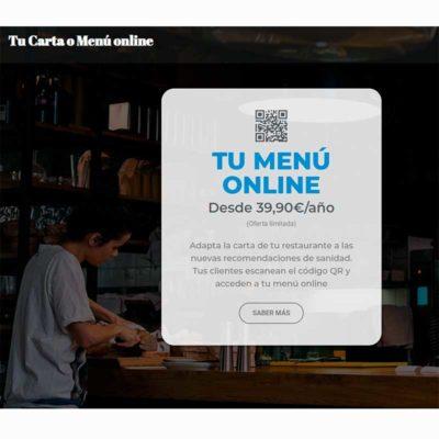 Tu Carta o Menú online Qr